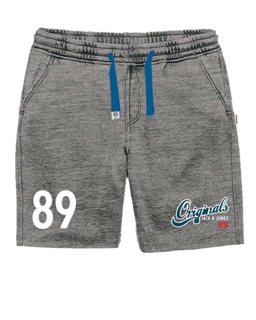 jack jones shorts kurze hosen jjorjack sweat shorts grau jj16. Black Bedroom Furniture Sets. Home Design Ideas