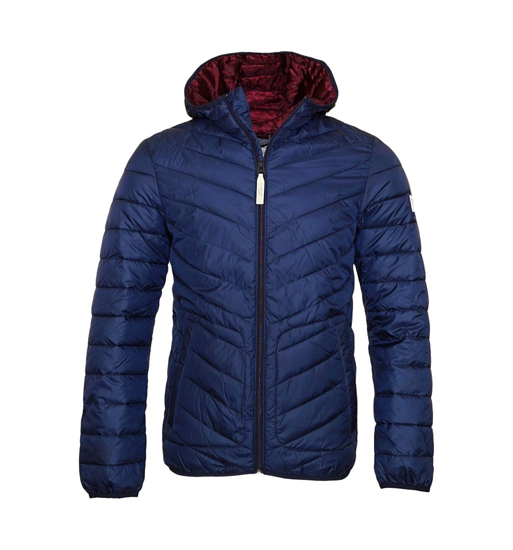 d0bb24cbcd83ca Tom Tailor Jacke Light fake down Jacket 3555057 0012 6576 Daunenjacke navy  SH17-TTJ1