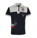Geographical Norway Herren Polo Poloshirt KAVO Men 100 JMS, navy SM449H/GN