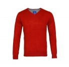Tom Tailor Pullover V-Ausschnitt Herrenpullover Sweater 30197320910 4655 dusty autum red melange