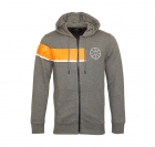 Jack & Jones Jacke Trainingsjacke Sweater grau Jcomove Sweat Hood Zip