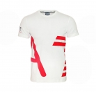 EA7 EMPORIO ARMANI Shirt T-Shirt Tee Shirt Sea World rot, weiss 273935 6P254 00010
