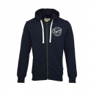 Jack & Jones Jacke jjorLen Sweat Zip Cardigan Navy Blazer mit Kapuze JJ16