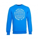 Jack & Jones Pullover jjorSteven Sweat Mix Pack imperial blue blau Rundhals JJ16