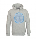 Jack & Jones Pullover jjorSteven Sweat Mix Pack Hood light grey mit Kapuze grau JJ16