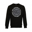 Jack & Jones Pullover jjorSteven Sweat Mix Pack black Reg schwarz Rundhals JJ16