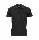 EA7 EMPORIO ARMANI Shirt T-Shirt Poloshirt Train Core Plus Polo schwarz 277034 6P262 00020