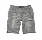 POOLMAN Hose, kurze Hose, Shorts grau Jogg Denim 1501 503 grey PM16