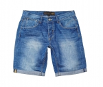 POOLMAN Hose, kurze Hose, Shorts Jeans 1501 520 denim blue PM16