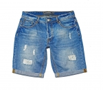 POOLMAN Hose, kurze Hose, Shorts Jeans 1601 592 denim blue PM16