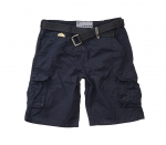 POOLMAN Hose, kurze Hose, Shorts Chino P1601506 navy PM16