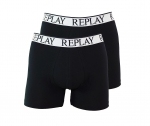 Replay 2er Pack Shorts Boxershorts M606001 P12 schwarz