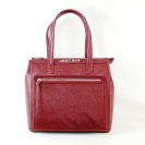 Armani Jeans Handtasche Shopper Tasche WOMEN'S SHOPPING BAG 922102 6A728 00176 Bordeaux HW16-1