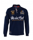 Geographical Norway Sweater Poloshirt Polohemd Kipawa navy HW16-GN