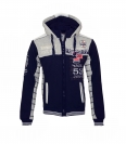 Geographical Norway Sweater Sweatjacke Geecker navy grau HW16-GN
