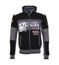 Geographical Norway Sweater Sweatjacke Gavrilos schwarz HW16-GN