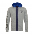 Petrol Industries Sweater Sweatjacke Sweat Hooded grau mit Kapuze MFW16 SWH352 946 HW16-3