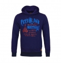 Petrol Industries Sweater Pullover Sweat Hooded blau MFW16 SWH390 584 mit Kapuze HW16-3