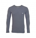 Emporio Armani Shirt Longsleeve KNIT SWEATER 111023 6A725 00044 ANTRACITE HW16A1