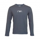 Emporio Armani Shirt Longsleeve KNIT SWEATER 111653 6A715 00044 ANTRACITE HW16A1