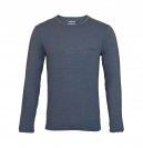 Emporio Armani Shirt Longsleeve KNIT SWEATER 111653 6A717 00044 ANTRACITE HW16A1