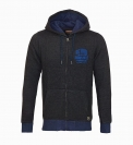 PETROL Industries Sweater Jacke Sweat Hooded anthrazit MFW16 SWH357 980  HW16-Pn
