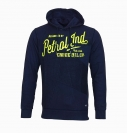 PETROL Industries Sweater Pullover Sweat Hooded blau MFW16 SWH375 591 HW16-Pn