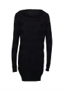 Bench Kleid Dress Damen KNITTED DRESS Jet Black schwarz BLSA 1572B BK014 HW16DK