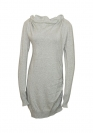 Bench Kleid Dress Damen KNITTED DRESS Mid Grey Marl BLSA 1655B GY001X HW16DK