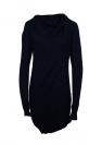 Bench Kleid Dress Damen KNITTED DRESS Dark Navy Blue BLSA 1655B NY031 HW16DK