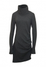 Bench Kleid Dress Damen KNITTED DRESS Dark Grey Marl BLSA 1664 GY006X HW16DK