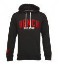 BENCH Pullover m. Kapuze GRAPHIC HOODY Hoodie Dark Grey BMEA 2779 GY159 HW16B1