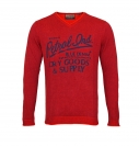 Petrol Industries Sweater Pullover Knitwear MFW16 KWV261 393 rot HW16-1SP