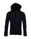 Poolman Strickjacke Jacke m. Kapuze Hooded navyblau P1604339 Navy HW16PD