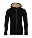 Poolman Strickjacke Jacke m. Kapuze Hooded schwarz P1604348 Black HW16PD