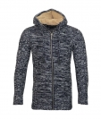 Poolman Strickjacke Jacke m. Kapuze Hooded navyblau P1604348 Navy HW16PD