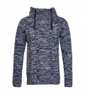Poolman Strickpullover Pullover m. Kapuze Hooded navy P1604346 HW16PD