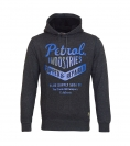 Petrol Industries Sweater Pullover Hoodie anthrazit MFW SWH351 980 HW16-4sp mit Kapuze