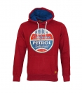 Petrol Industries Sweater Pullover Hoodie rot MFW SWH360 390 HW16-4sp mit Kapuze