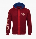 PETROL Industries Sweater Jacke Sweat Hooded weinrot MFW16 SWH352 393 HW16-Pn
