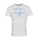 Tom Tailor T-Shirt Tee Shirt weiß white 1023549 0910 2000 WF17-JT2