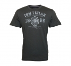 Tom Tailor T-Shirt Tee Shirt tarmac grey 1023549 0910 2983 WF17-JT2