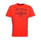 Tom Tailor T-Shirt Tee Shirt plain red 1023549 0910 4481 WF17-JT2