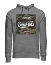 Jack & Jones Hoodie Sweater Pullover JORMAGIC SWEAT MIX Light Grey Melange 12126329 WF16-JJ1