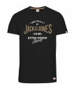 Jack & Jones Shirt T-Shirt JORREAL Rundhals Tap Shoe 12118714 WF17-TJJ1