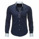 CARISMA Hemd Herrenhemd Slim Fit navy 8018 WF17-CRH1