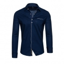 CARISMA Hemd Herrenhemd Slim Fit navy 8354 WF17-CRH1