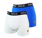 REPLAY 2er Pack Shorts Unterhosen Trunks FCB M251143 B19 FS17-RPS1