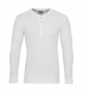 LEVIS Shirts Longsleeve Henley 961023001 300 White SF17-LVLV1
