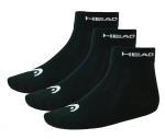 HEAD 3er Pack UNISEX Strümpfe Socken 761011001 200 black Gr. 35 - 46 S17-HDS1